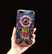 Dream Catcher Case Iphone 7 Plus Silicone Case Beads Dream Catcher TPU Cover For Girls iPhone 100 42