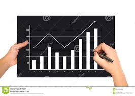 Hand Drawing Graph Stock Image Image Of Isolated Graphic