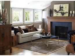 Sloped Ceiling Living Room Stupendous Fireplace Surround By Windows Cottage Living Room Light