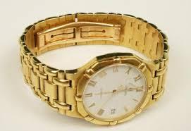 mens 18k yellow gold concord saratoga watch image 1 mens 18k yellow gold concord saratoga watch