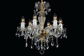 full size of 6 light classic style chandelier in brass the esmeraude crysta lighting crystal dix