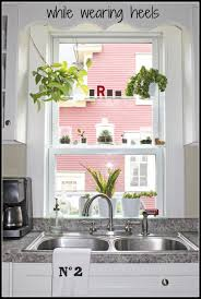 Kitchen Window Shelf Kitchen Window Shelf For Herbs Finogaus