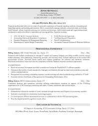 Bunch Ideas of Billing Resume Sample On Resume Sample