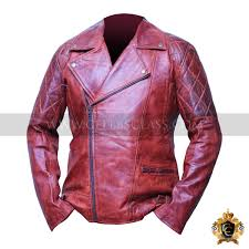 cafe racer tan brown leather jacket for mens