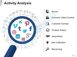Surveys Download Activity Analysis Slide Templates Survey Presentation Template