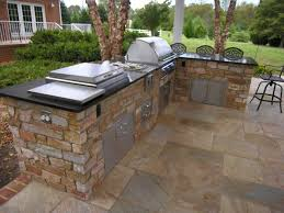 prefab outdoor kitchen kits black ceramic countertop stainless steel bbq grillware cabinet oven green island with bookcase white brick shaped plans for
