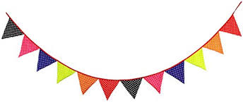 Triangle Banner Liveinu Happy Birthday Banner Party Banners And Triangle Flags Diy Wedding Decortions Cotton Pennant For Adults And Kids