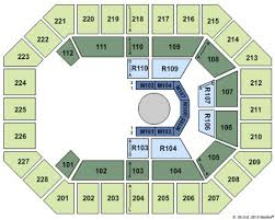 Us Cellular Seating Chart Asheville Us Cellular Center