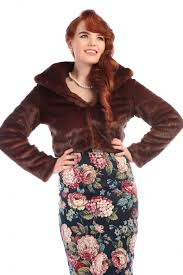 collectif vintage clara faux fur jacket