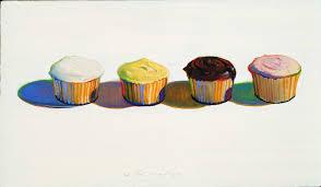 wayne thiebaud four cupcakes 1971 bologna museum of modern art morandi museum