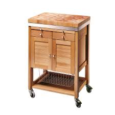 Kitchen Trolley Eddingtons Eddingtons Pewsey Beech Wooden Kitchen Trolley