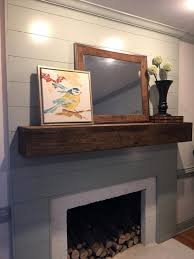 smlf covering old brick fireplace with stone reface tile this transformation started dated raised panel design modern