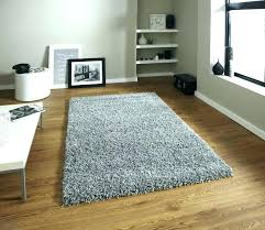 ikea high pile rug gray