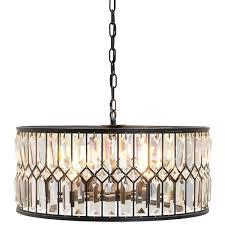 elegant bronze crystal chandelier hampton bay 5 light oil rubbed inside bronze chandelier with crystals