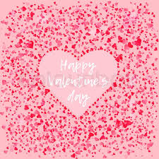 february heart background. Contemporary Heart Tender Pink Hearts Background With Negative Space Heart For Valentineu0027s Day  Greeting Card Design Lovely Square Wallpaper 14 February Celebration  In February Heart Background A