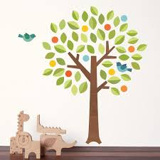>fabric tree wall decal petit collage petit collage polka dot tree fabric wall decal