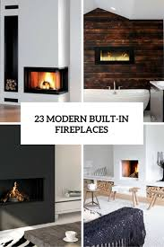 23 modern built in fireplaces to bring a cozy touch digsdigs with fireplace design 8