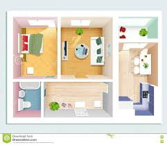 Graphy Bedroom Modern Room Interiors Set Stylish Graphic Living Room Bedroom