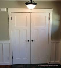 Shaker style bifold closet doors … | bathroom | Pinte…