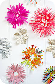 how to make a paper model paper flower chandelier step 13