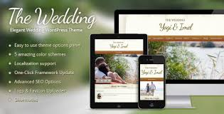 Wedding Wordpress Theme The Wedding Elegant Wedding Wordpress Theme By Themewarriors