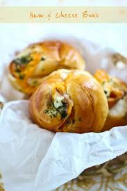 Ham And Cheese Buns Easy Delicious Recipes