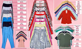Eric Dress Size Chart The High Street Clothes Size Lottery Which Store Is The