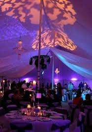 diy wedding reception lighting. Gobo Projector Creates The Abstract Designs In Coral Uplighting Gives Tent Overall Colorful Mood Lighting Diy Wedding Reception