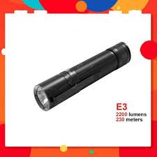 Đèn pin KLARUS E3 - Đèn pin EDC nhỏ gọn độ sáng 2200lm chiếu xa 230m cổng  sạc Type-C sử dụng pin 5000mAh (kèm theo)