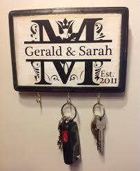 personalized wedding gift monogram key holder awesome for enement gift bridal shower couple s gift housewarming wedding gift idea