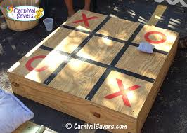 Homemade Wooden Games Carnival Booth Ideas Tic Tac Toe Carnival Game 81