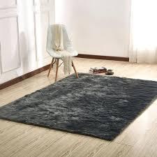 good gray faux fur rug for faux fur rug rug factory plus faux sheepskin area rug