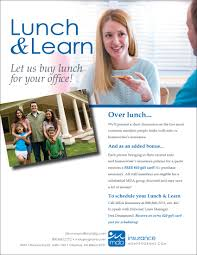 schedule a lunch learn for your office