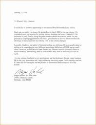 Real Estate Recommendation Letter Sample Pin By Template On Template Reference Letter Lettering