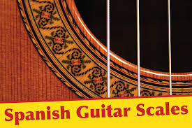 Spain Chord Chart Spanish Guitar Scales Tab Diagrams Notation Info