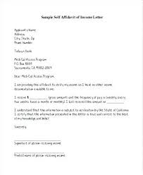 Income Verification Letter Sample Self Employed To Certify