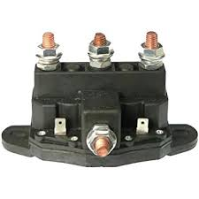 amazon com new 12v solenoid switch fits hydraulic pump motors 214 winch motor intermittent duty reversing solenoid dc contactor relay switch
