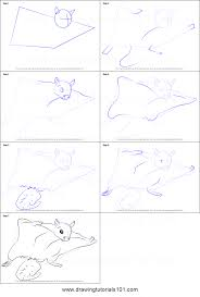 Small Picture How to Draw a Northern Flying Squirrel printable step by step