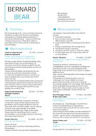 Business Specialist Resume Sample Resume Sample Career Help Center