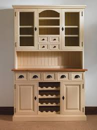 Built In Wine Racks Kitchen Mottisfont Painted Pine Provence Dresser With Built In Wine Rack