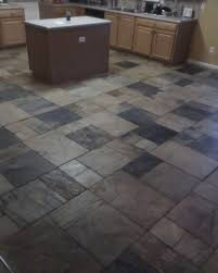 Stone Kitchen Floor Tiles Slate Tile Kitchen Floor Gray Kitchen Cabinets Waplag Wood