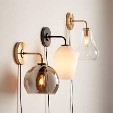 arren wall sconces with shades crate