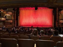 Amsterdam Theatre Nyc Seating Chart New Amsterdam Theatre Section Orchestra C Row V