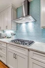 17 Awe Inspiring Blue Kitchen Backsplash Ideas You Can Steal Blue Backsplash Kitchen Glass Tile Backsplash Kitchen Glass Tiles Kitchen