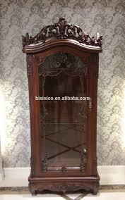 Living Room Sideboards And Cabinets American Style Wooden Show Cabinet Showcaseluxury Hand Carved