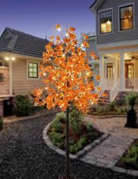Lightshare Led Lighted Maple Tree Details About Lightshare 5 5 Feet Maple Tree With 120 Warm White Lights