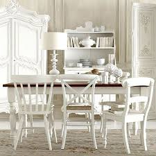 all white rooms painting mixed match chairs all in the same white color unifies the look in this all white dining room