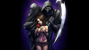 1600x1000 dark grim reaper wallpaper