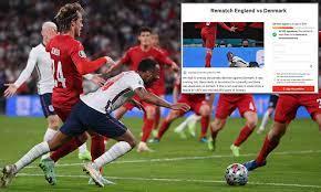 get England vs Denmark REPLAYED ...