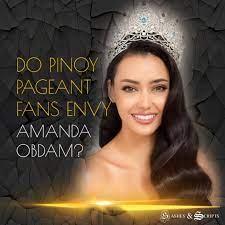 Pageant Fanpage take on bashers/trolls vs Amanda Obdam issue